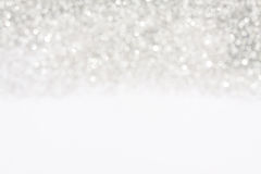Soft lights silver background royalty free stock image