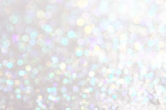 Soft lights silver background Stock Photography