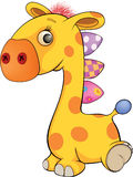 Toy giraffe cartoon Royalty Free Stock Photo