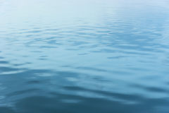 Soft nightly water ripples Royalty Free Stock Photos