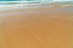 Ocean Waves On Beach stock photography