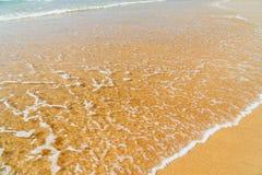 Ocean Waves On Beach stock image