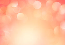 Soft orange pink yellow blurred background. Royalty Free Stock Photography
