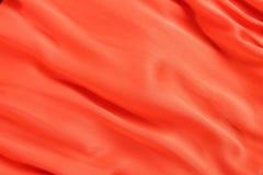 Soft orange silk Stock Photography