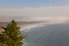 Soft Oregon Coast Royalty Free Stock Photo