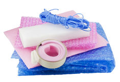 Soft packing material  kit Stock Photography