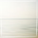 Soft pastel sea blurred background Royalty Free Stock Image