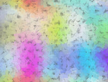 Soft pastel squared pattern on grey Royalty Free Stock Photos