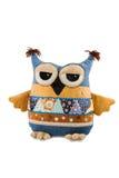 Soft pillow owl Royalty Free Stock Photos