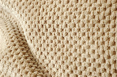 Soft Pillow Texture Pattern. Close up of pillow pattern and texture Royalty Free Stock Images