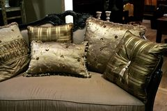 Soft pillows Royalty Free Stock Photos