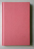 Soft pink book cover Stock Images