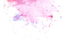 Soft pink and light blue splashes Royalty Free Stock Photo