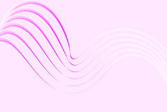 Soft pink lines Stock Image