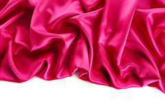 soft pink satin Stock Photography