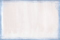 Soft pink texture with blue frame Royalty Free Stock Photography