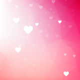 Soft pink valentine background Royalty Free Stock Photo