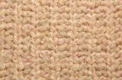 Soft pink woolen texture as background Royalty Free Stock Images