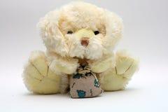 The soft plush doggie Stock Image