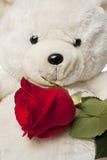 Soft plush teddy bear Stock Images