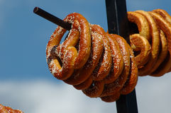 Soft Pretzles royalty free stock photo