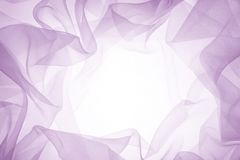 Soft purple chiffon texture Stock Photography