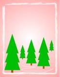 Soft Quiet Christmas Design Stock Images