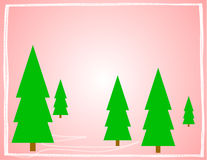 Soft Quiet Christmas Design Royalty Free Stock Images