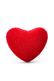 Soft red heart Royalty Free Stock Image