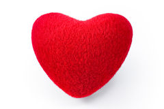 Soft red heart Royalty Free Stock Photos