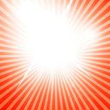 Soft red rays Royalty Free Stock Photography