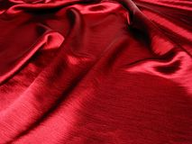Soft red satin background Royalty Free Stock Photos