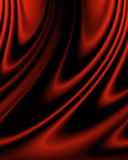 Soft red silk Royalty Free Stock Image