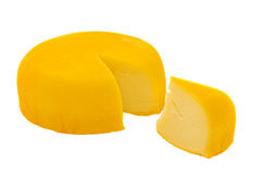 Soft ripe cheese Royalty Free Stock Photos