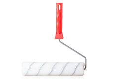 Soft roller for painting walls isolated Stock Image