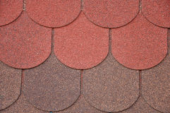 Soft roof, roof tiles. Royalty Free Stock Image