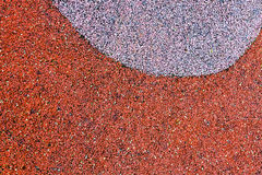 Soft rubber ground Stock Photos