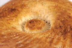 Soft and rubby round bread Stock Photos