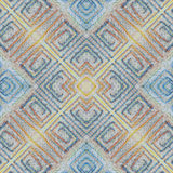 Soft seamless grunge colorful pattern. Collage with hand made pastel lines. Batik background, backdrop. Boho style, kaleidoscope m Stock Image