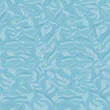 Soft seamless wavy pattern. Monochrome background. Light blue colors. Royalty Free Stock Photos