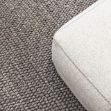 Soft seat on gray carpet Royalty Free Stock Images