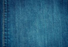 Soft and selective focus blue jean texture background. Soft and selective focus blue jean texture fashion background royalty free stock photography