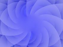 Soft Serve. A deliciously soft blue fractal spiral Stock Image