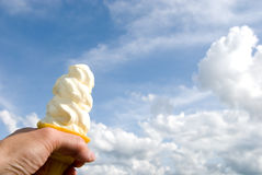 Soft serve ice cream Royalty Free Stock Photo