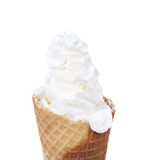 Soft serve ice cream Royalty Free Stock Images