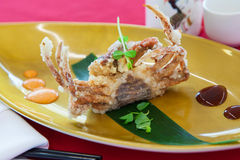 Soft shell crab Royalty Free Stock Photography
