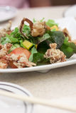 Soft Shell Crab Salad Stock Photo