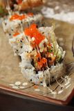 Soft Shell Crab Sushi Stock Images