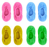 Soft slippers Stock Image