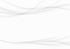 Soft smooth abstract grey gradient streak swoosh lines. Elegant Royalty Free Stock Photos